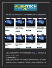 The Best Remapping Tools Let's Get Better Your Car Performance.pdf