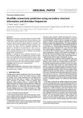 Ferrè_Clote_2005_Disulfide connectivity prediction using secondary structure information and.pdf