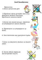 Sınıf Kuralları Resimli.doc