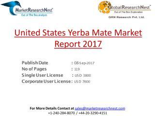 United States Yerba Mate Market Report 2017.pdf