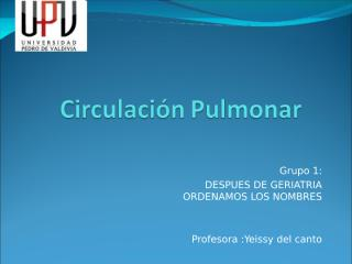 Circulacin Pulmonar 2.0 lista (3).ppt