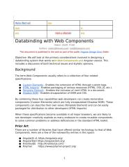 Databinding with Web Components.docx