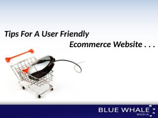 Tips For A User Friendly Ecommerce Website.pptx