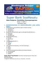 1. SUPER BANK SOAL PKN  KESATU  KELAS SATU  SEMESTER SATU.docx
