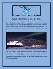 Sustainable Svalbard- a complete guide.pdf